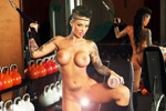 Fleshlight - Christy Mack Booty - Christy im Fitnessstudio