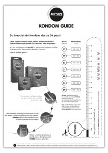 My.Size Kondom-Guide