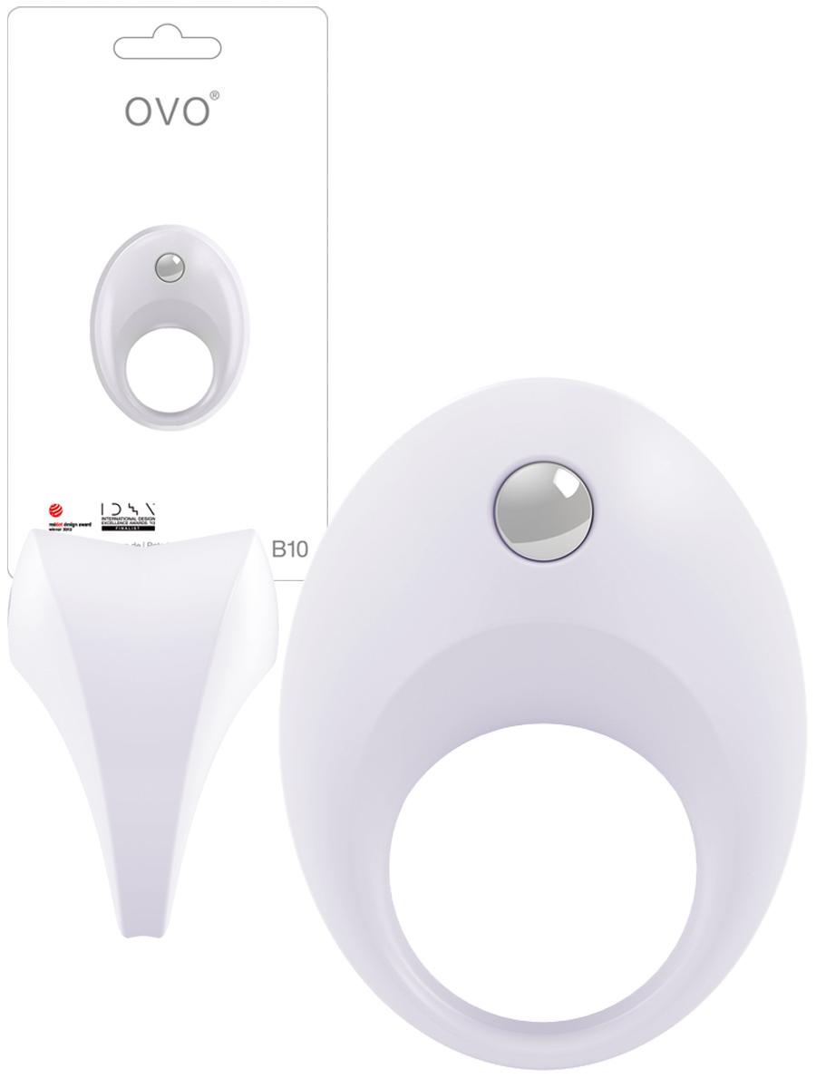 OVO B10 (weiß) Produktbild und Verpackung
