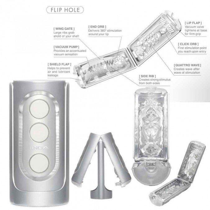 Anleitung für den Tenga Fliphole Silber