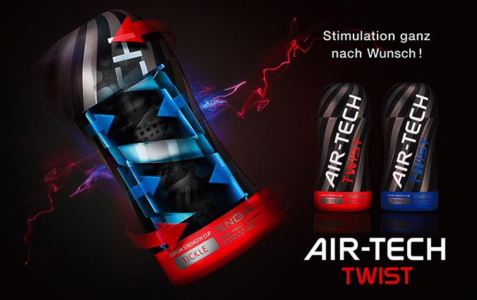 Tenga Air Tech Twist - Stimulation ganz nach Wunsch!